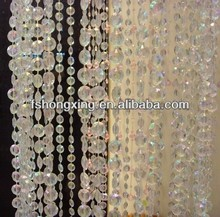 BC03 crystal home decoration clear Hanging Door Beaded Curtains
