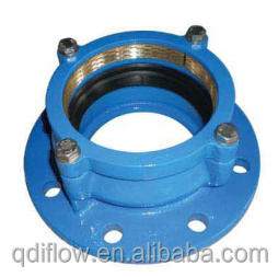 Ductile Iron Restrained Flange Adaptor for HD-PE Pipe