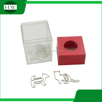 The promotional stationery, paper clip with China lowest price