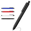 INTERWELL BP5019 Black Pen Custom Logo, Hotel High Quality Ballpoint Pen