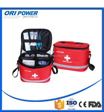 OP FDA CE ISO approved red stereo full equipped disaster supplies kit for ambulanceman