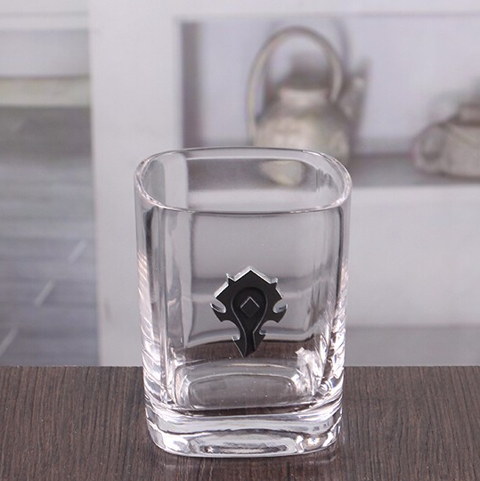 Hot sale promotion gift glassware, custom whiskey stones for kitchen