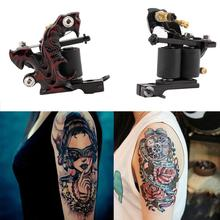 Custom Tattoo Machine Gun for Liner&Shader 10-Wrap Coils Basic Starter Set Quality New Arrival