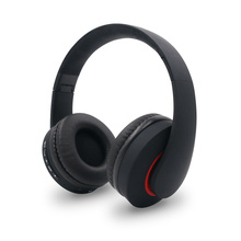 Stylish black over ear headphone gaming headphone wireless BT headset