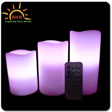 Wedding Occasion Hot sell Led Candle wedding giveaway gifts Flameless Led Candle Light With Remote Control/Led Wax Candle Light
