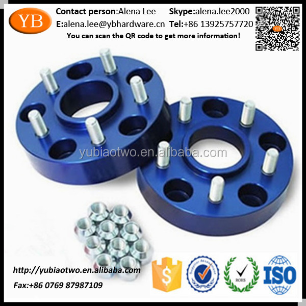 Anodized Aluminum Bolt Wheel Spacer Trailer Wheels ISO/TS16949 passed
