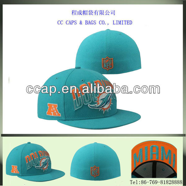 flat bill fitted 3D embroidery baseball cap and hat ccap-0090