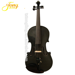 High Quality Black Violin With Art Design TL-1311