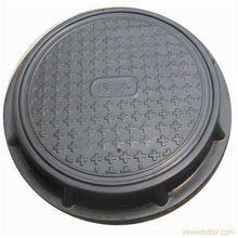 Composite SMC/BMC/FRP Manhole Cover for Draining Cable Protection