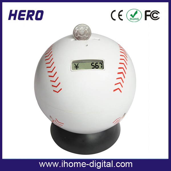 Professional Multifunctional piggy bank that counts money Electronics money box with low price