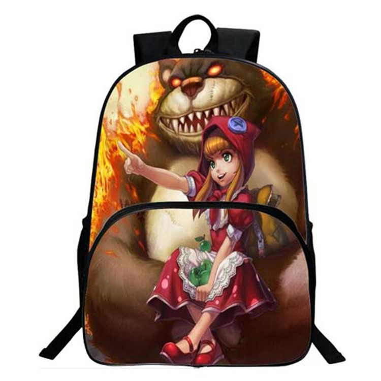 Lovely 3D Anime School Bags Making Machines