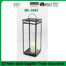 ML-1845 funeral hurricane kerosene metal lantern candle holder light