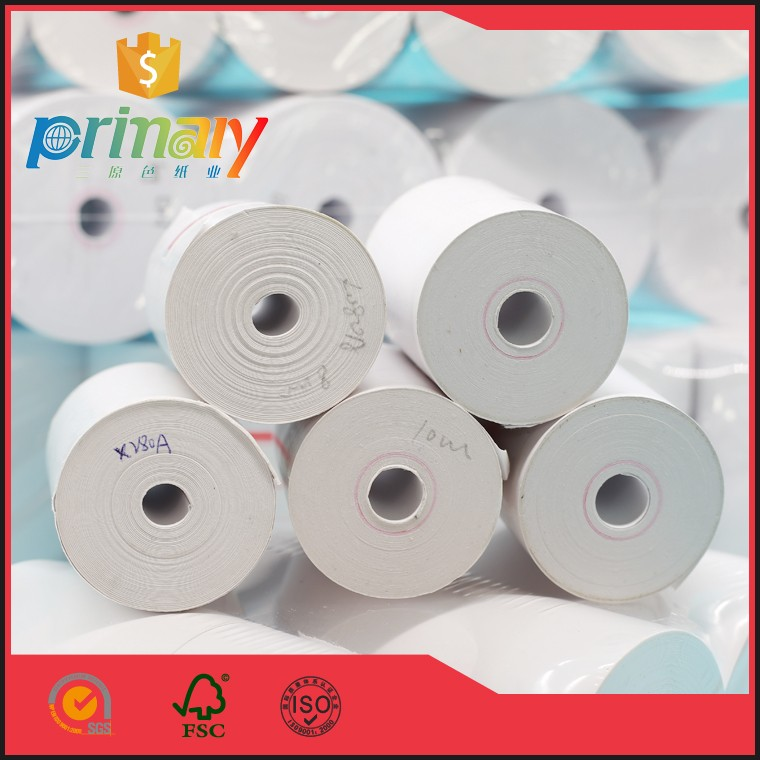 56mmx30mmx8mm 55gsm Thermal Paper For POS receipt Rolls