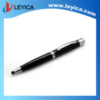 Metal pen with ball pen promotional touch stylus with data transmission and charging line for the phone MP3 LY-SJ601