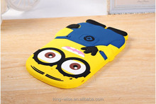 Minion case tablet case,Hottest Despicable Me silicone minion case For Tablet Ipad Mini