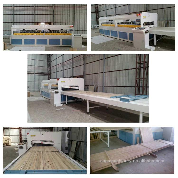 Radio Frequency Press Electric Heating Wood Panels Clamping Machine