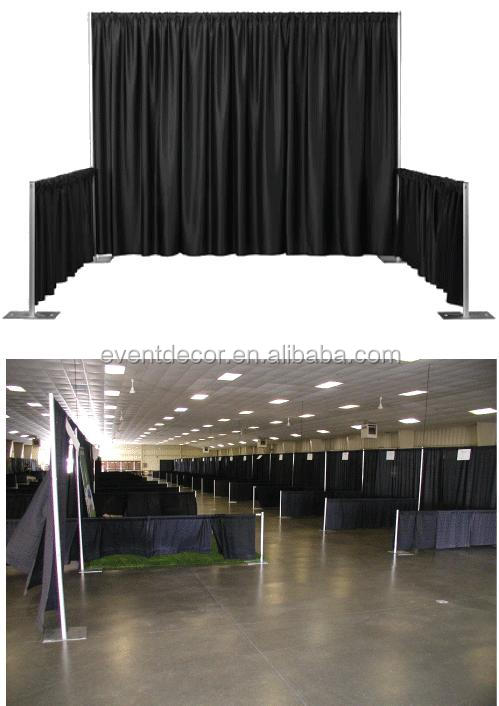 2016 hotsale cheap aluminum stand pipe and drape wedding stage for backdrop decoratio