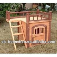 Pet house; Wooden dog house