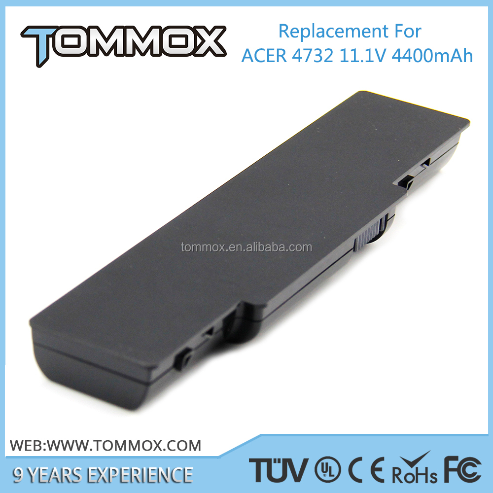 11.1V 4400MAH Black 6cells laptop battery for ACER 4732 AS09A70,AS09A71,AS09A73,