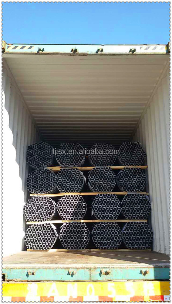 Tianjin manufacturer TSX-17326 pre-galvanized steel pipe and steel tube galvanized hollow section steel pipe