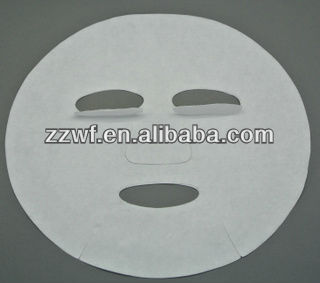 Disposable Spunlace Cotton Facial Mask Sheet For Skin Care Made in Zhengzhou