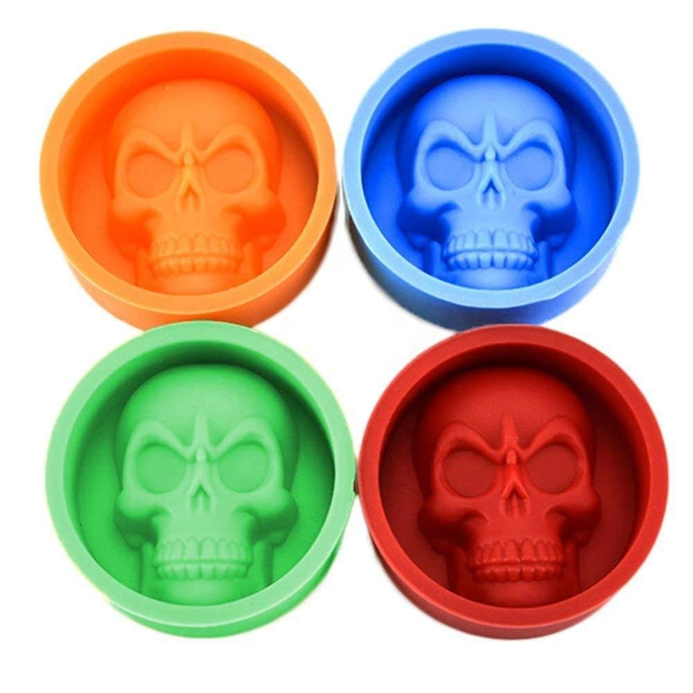 flexible halloween 3d silicone ice cube tray mould bar tool,bpa free