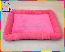 Plush texture machine washable fleece dog cage pad