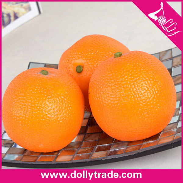 Life size artificial fake orange fruit for home decoration for Fruit orange decoration