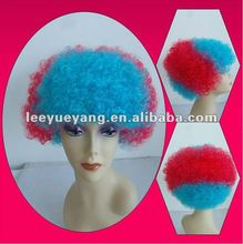 New arrival short colorful fanny wig