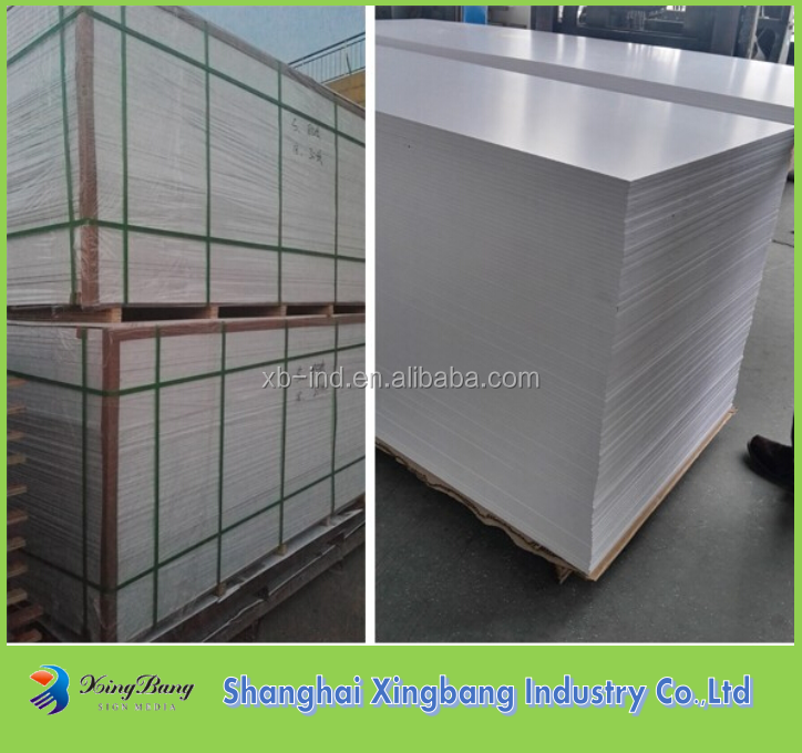 Factory price thin pvc foam sheet 1mm thick