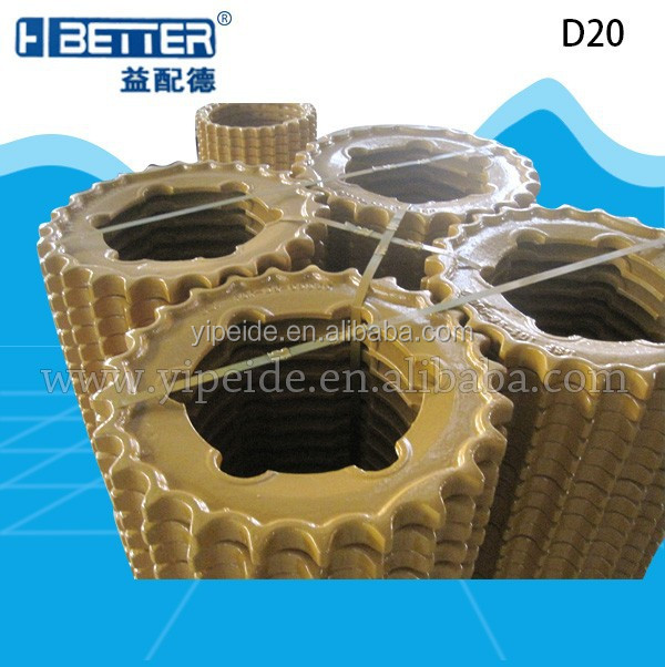 D20 sprocket for bulldozer undercarriage parts