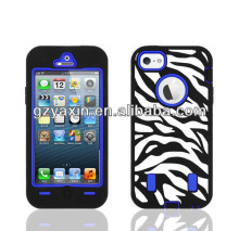 Packaging for iphone cases,high quality silicone robot combo case for iphone 5