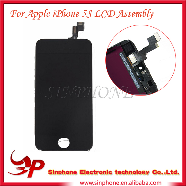 100% original For iphone 5s lcd assembly motherboard price