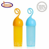 Kids style plastic drinking water bottle with handle