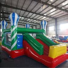 Hot air balloon bouncer inflatable jumping baby trampoline for sale