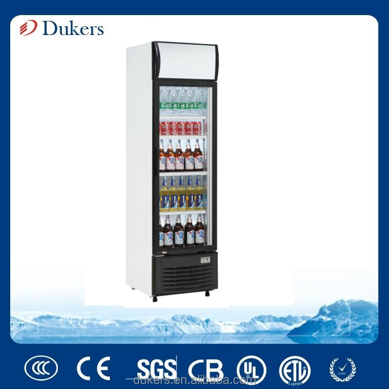 Display cabinet cooler with direct cooling system 232 liter _LG-232B
