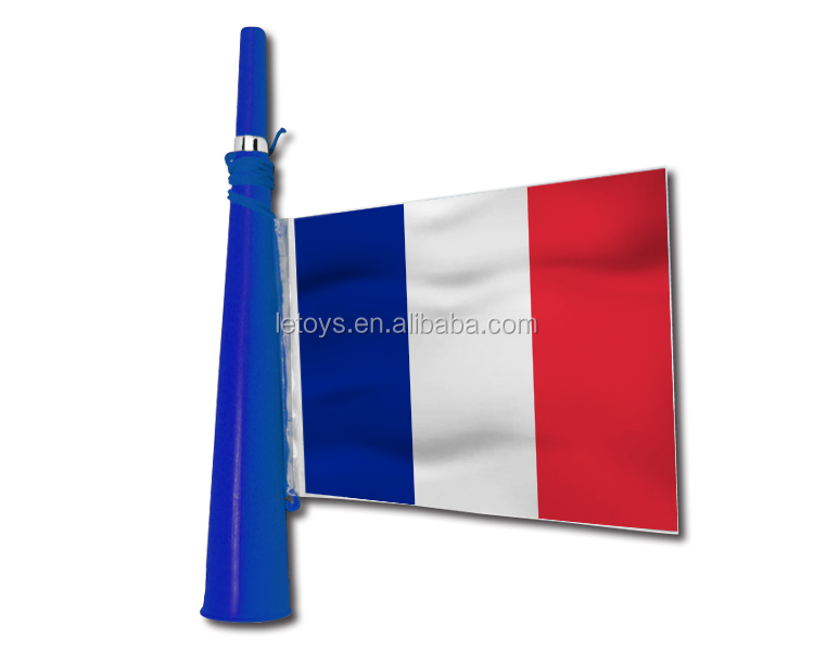 2016 Euro Cup football fans plastic cheering French horn /World Cup hot sale vuvuzela