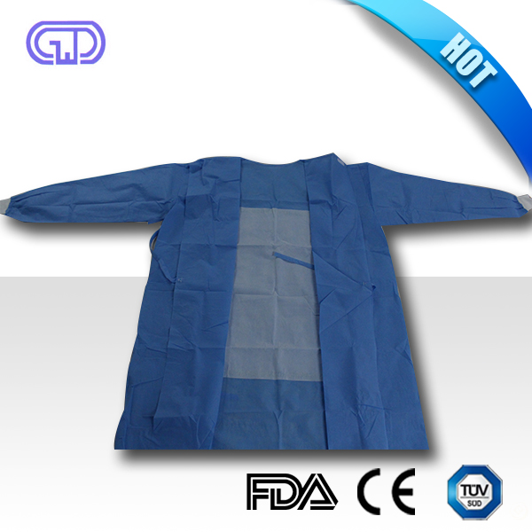 SMS blue Disposable hospital surgical gowns