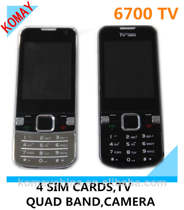KOMAY Unlocked Dual SIM Card Q670 6700 Mobile Phone Cheap Phone Good Quality
