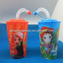 drinking reusable plastic travel cups lid straw