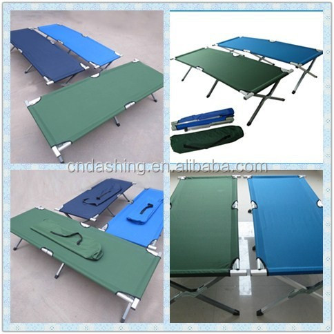 Lightweight cheap fold bed,army travel bed,military portable camping bed