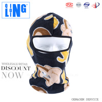 Polar Fleece Balaclava Warm Full Face Cover Winter Ski Mask Beanie Cs Hat Double Layers Thermal Warm Fleece balaclava