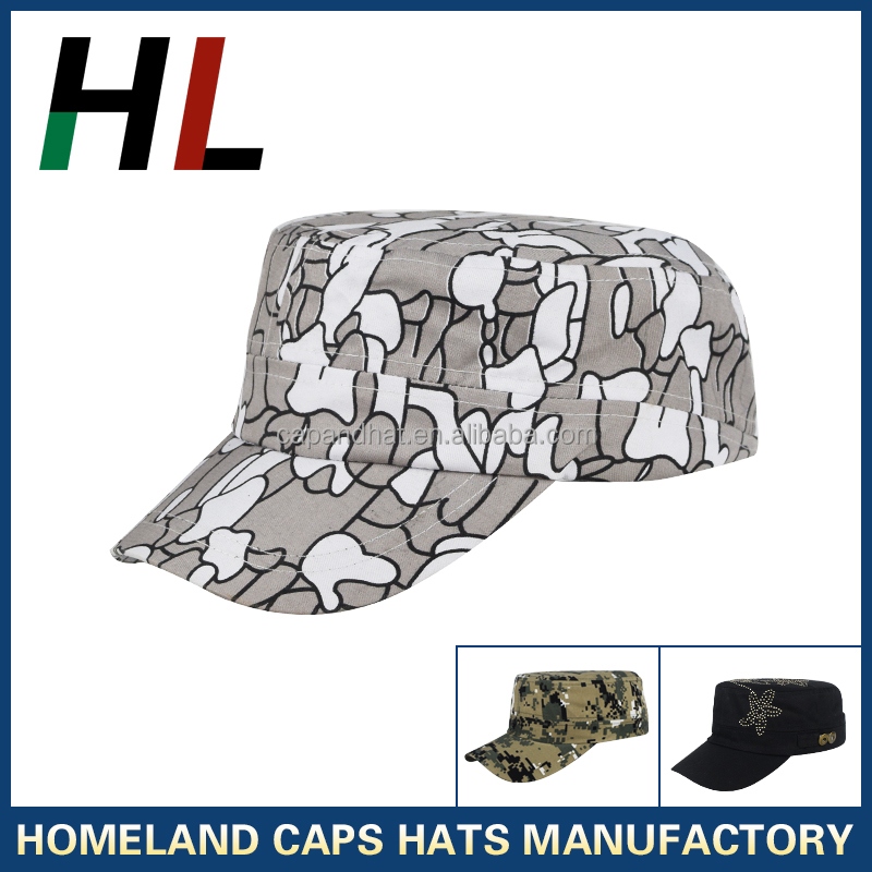 Fade Resistant Camou Flage Army Cap Military Style Baseball Cap