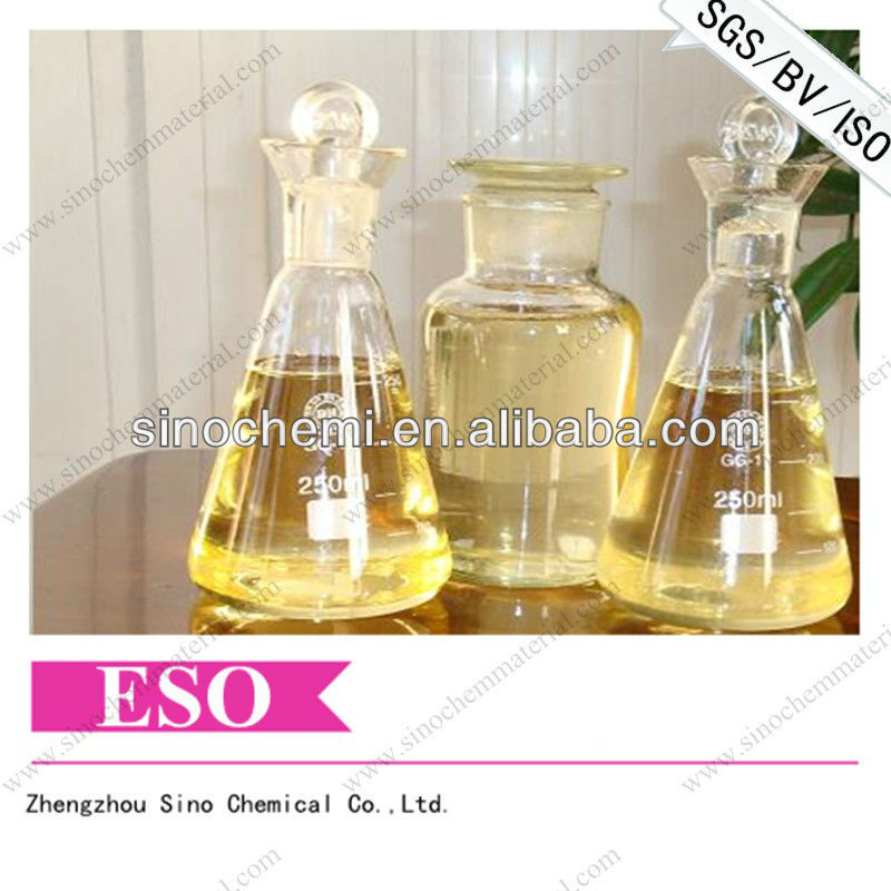 Liquid PVC Stabilizer and Plasticizer Epoxidized Soybean Oil ESO