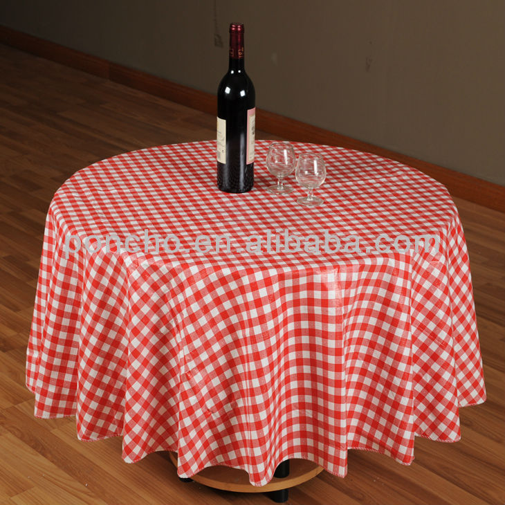 western table cloth/waterproof table cloth/pvc table cloth