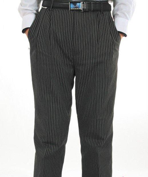 Hombres pantalones de chef pantalones de trabajo pantalones de chef hotel cocina impermeable - Pantalones de cocina ...