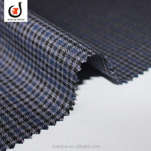 XJ-17057 Wholesale houndstooth check tr suit best fabric for trousers