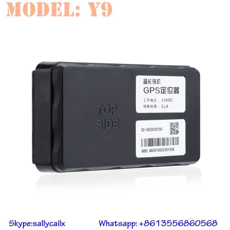Y9 high sensitive light tamper-proof car black box gps one year long lasting battery