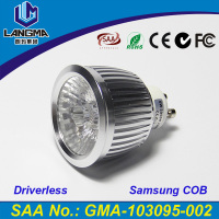 Langma COB LED Spot lamp 4years warranty AC220-240V 6W LED COB Dimmable GU10 LED belysning