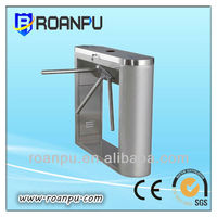 ce approved high speed tripod turnstile gate for Office Building,Bus Station,Parks with LED Display
